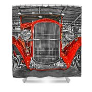 1931 Chevy Roadster Convertible Shower Curtain