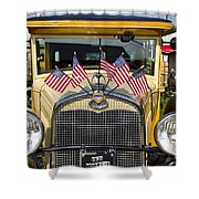 1931 Ford Model-a Car Shower Curtain