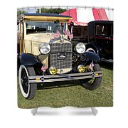 1931 Ford Model-a Car Shower Curtain