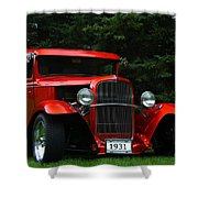 1931 Ford Panel Delivery Truck  Shower Curtain