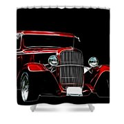 1931 Ford Panel Truck 2 Shower Curtain