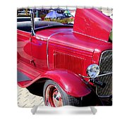 1931 Ford With Rumble Seat Shower Curtain