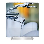 1931 Lincoln K Hood Ornament -1837c Shower Curtain