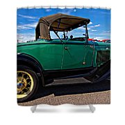 1931 Model T Ford Shower Curtain by Steve Harrington