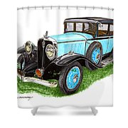 1931 Studebaker President Shower Curtain
