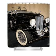 1932 Auburn Boattail Speedster Shower Curtain