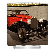 1932 Bugatti - Featured In 'comfortable Art' Group Shower Curtain