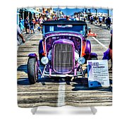 1932 Ford Roadster Front Shower Curtain