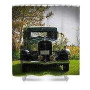 1932 Frontenac 6-70 Sedan  Shower Curtain