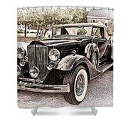 1932 Packard 903 Victoria Shower Curtain