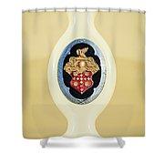 1932 Packard Emblem -1078c Shower Curtain
