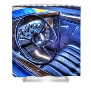 1932 Packard V12 Convertible Coupe-roadster V2 Shower Curtain