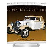 Bentley Derby D H C  Shower Curtain