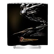 1933 Cadillac Emblem Shower Curtain