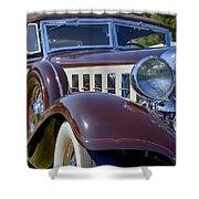 1933 Chrysler Imperial - Cl Phaeton Shower Curtain