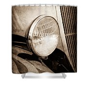 1933 Ford Coupe Hot Rod Shower Curtain