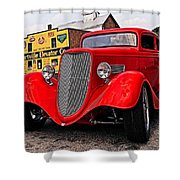 1933 Ford Coupe Shower Curtain