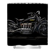 1933 Indian Four Shower Curtain