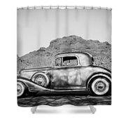 1933 Pontiac -0008bw Shower Curtain