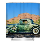1933 Pontiac -0008c Shower Curtain