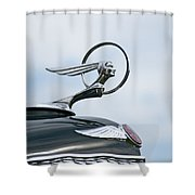 1933 Pontiac Shower Curtain