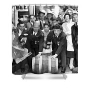 1933 Prohibition Repeal Shower Curtain