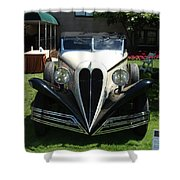 1934 Bruster Shower Curtain