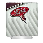 1934 Ford Emblem Shower Curtain