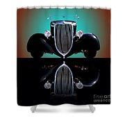 1934 Ford Phaeton Convertible Shower Curtain