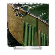 1934 Green Rolls Shower Curtain