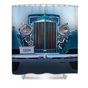 1934 Packard Super 8 Shower Curtain