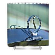 1934 Studebaker Hood Ornament Shower Curtain