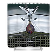 1934 Vauxhall Shower Curtain