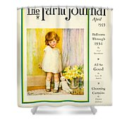 1935 - The National Farm Journal Magazine Cover April - Color Shower Curtain