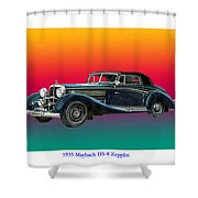 Maybach Zepplin Ds-8 Shower Curtain