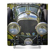 1936 Bentley 4.5 Litre Lemans Rc Series Shower Curtain