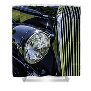 1936 Buick Vectoria Coupe Shower Curtain