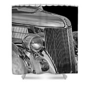 1936 Ford - Stainless Steel Body Shower Curtain