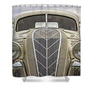 1936 Hudson Terraplane Truck Shower Curtain