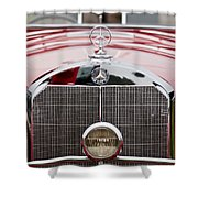1936 Mercedes-benz 540k Mayfair Special Roadster Grille Shower Curtain