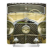 1936 Mercedes Benz Shower Curtain
