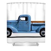 1937 Chevrolet Pickup Truck Shower Curtain