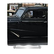 1937 Chevy Flameon Shower Curtain