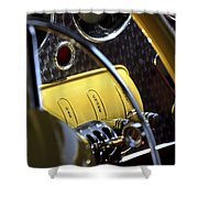 1937 Cord 812 Phaeton Controls Shower Curtain