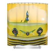 1937 Cord 812 Phaeton Grille Emblems Shower Curtain