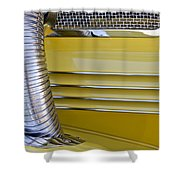 1937 Cord 812 Phaeton Hood Fender Shower Curtain