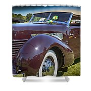 1937 Cord Phaeton Shower Curtain
