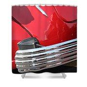 1937 Desoto Chrome Bumper-7249 Shower Curtain