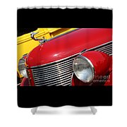 1937 Desoto Front-7262 Shower Curtain