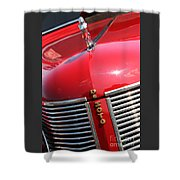 1937 Desoto Front Grill Shower Curtain